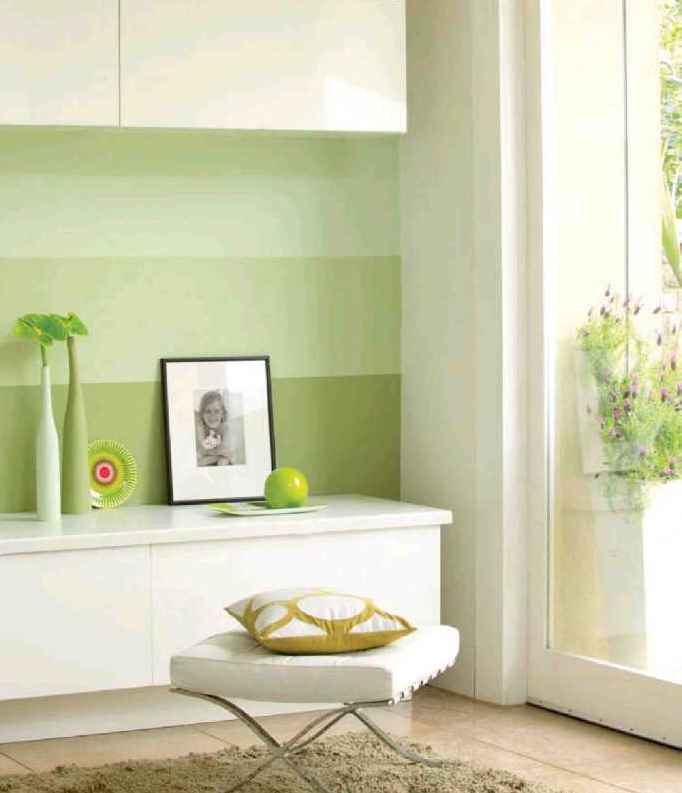 Pintar paredes a rayas, hazlo tu mismo | Hogar 10 | Pinterest ...