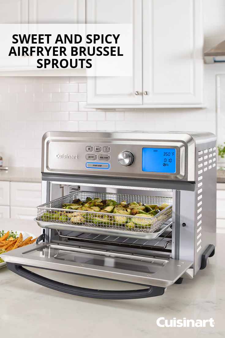Fried Brussels Sprouts Airfryer Recipe Cuisinart Recipes