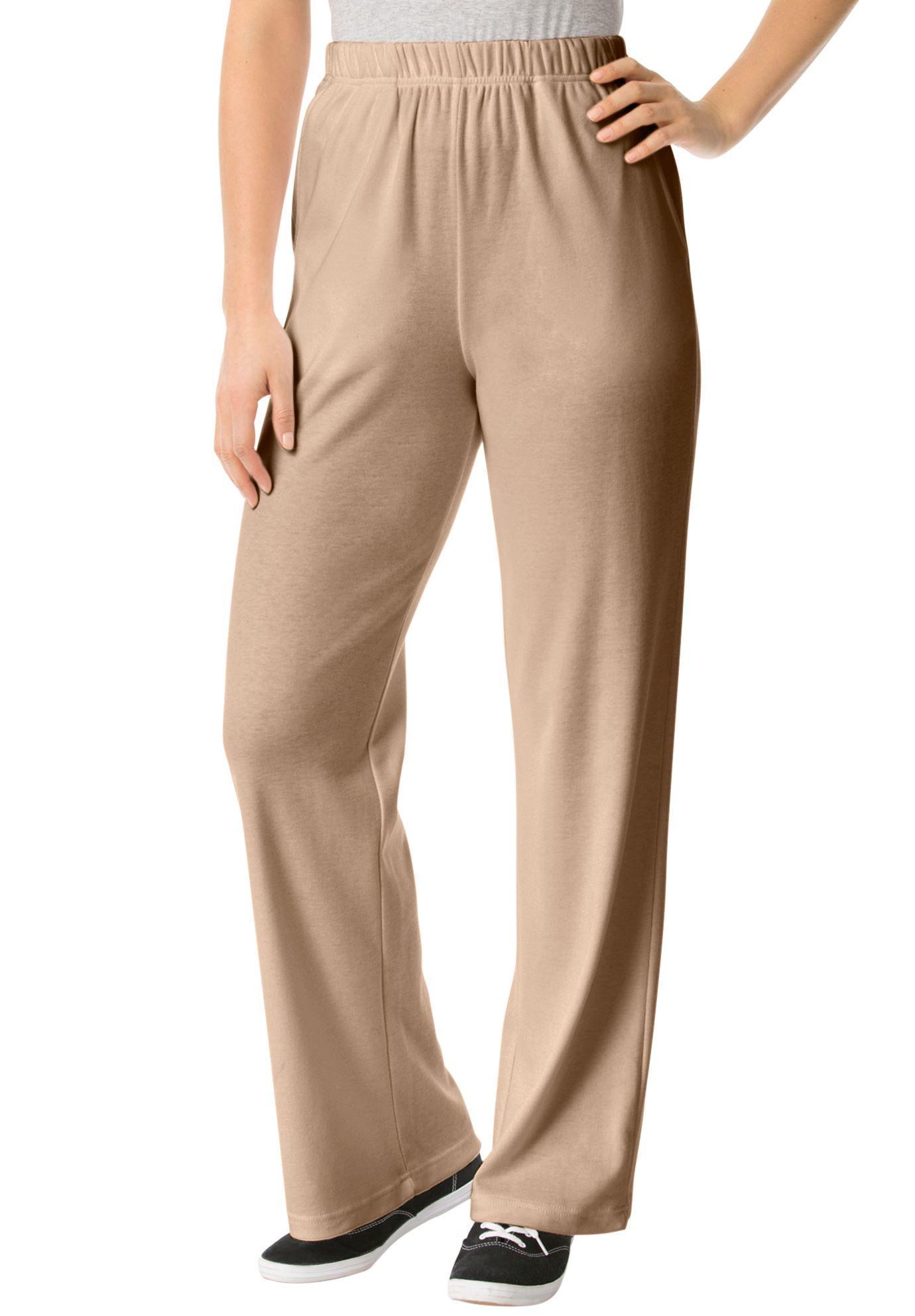 7-Day Knit Wide Leg Pant - Women s Plus Size Clothing  43d081c104df