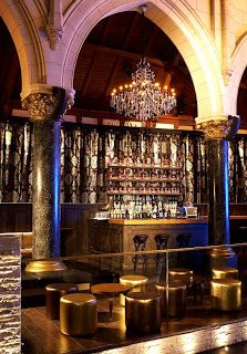 Gabe's: Spirito Martini Lounge  ... a former  Anglican church in Brussels