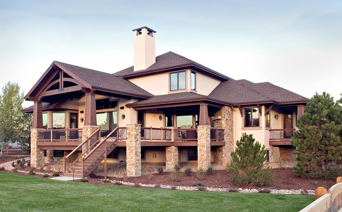 Pin By Marcia Becker On Website Colorado Homes House Plans House Exterior
