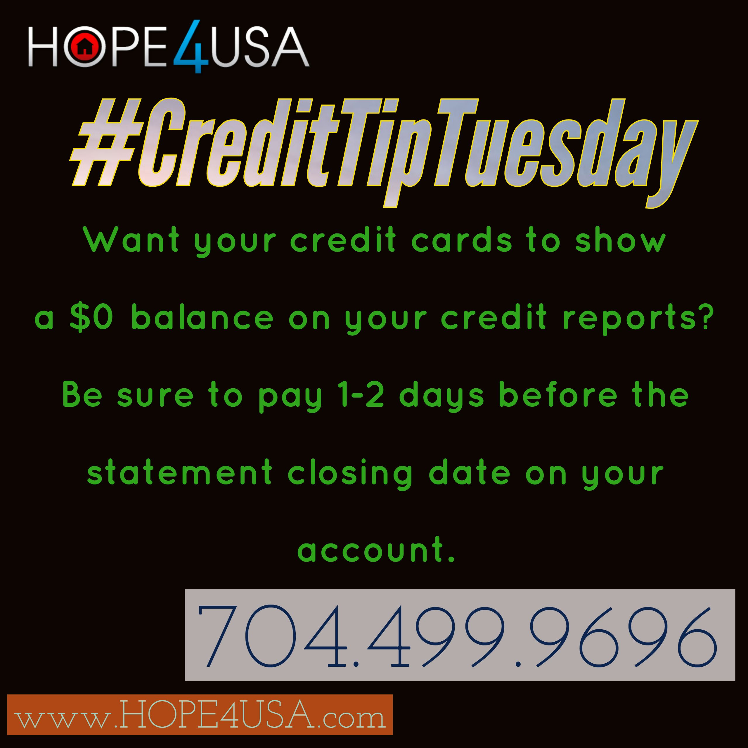 Pin By HOPE4USA.com On Credit Card Management Tips