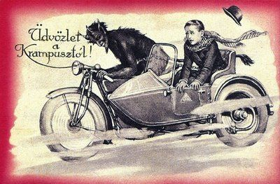 Merry Krampus! | Krampus | Pinterest | Anatomy and Illustrations