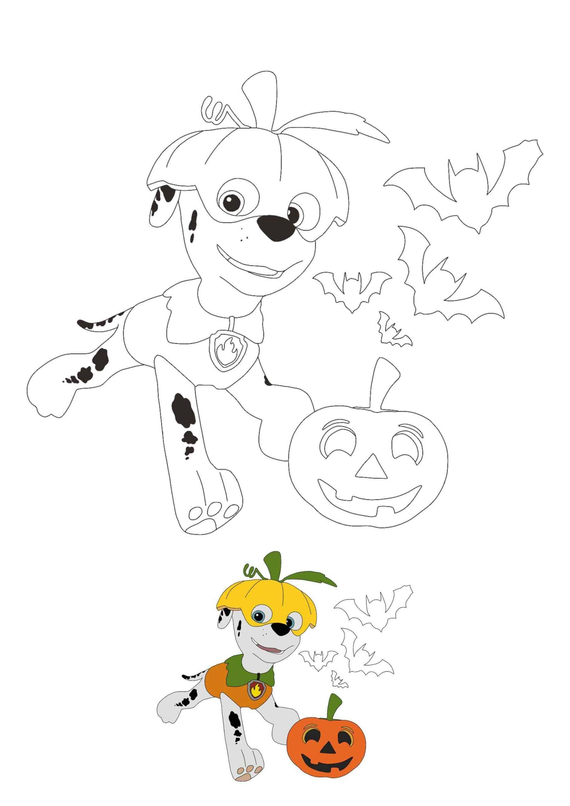 Paw Patrol Halloween Coloring Pages Paw Patrol Coloring Pages Halloween Coloring Pages Paw Patrol Coloring