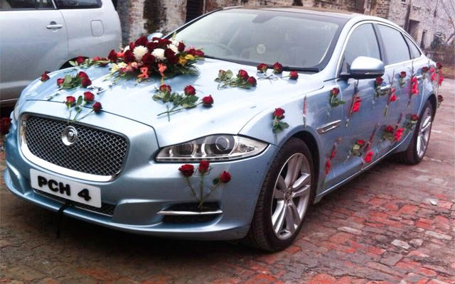 JAGUAR XJ L Sky For Wedding Rental In Punjab, India · Wedding RentalsWedding  CarsWedding ...