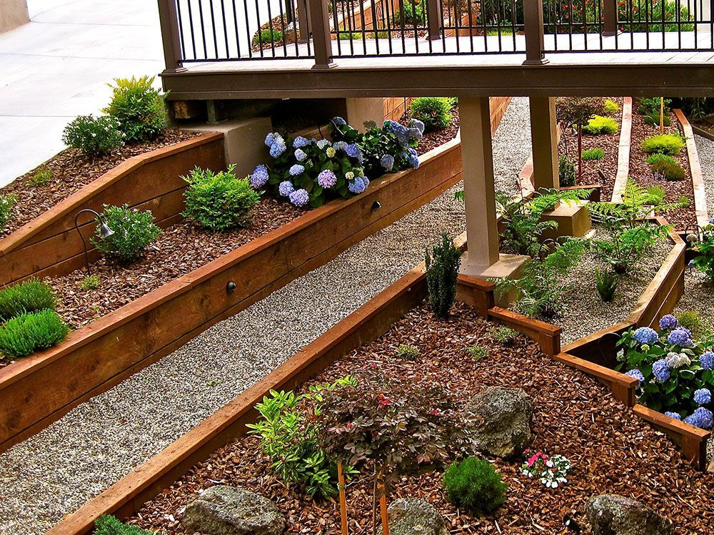 Fabulous Modern Hillside Landscaping Design With Modern 400 x 300