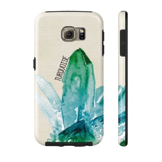 Birthstone Turquoise Graphic Phone Case
