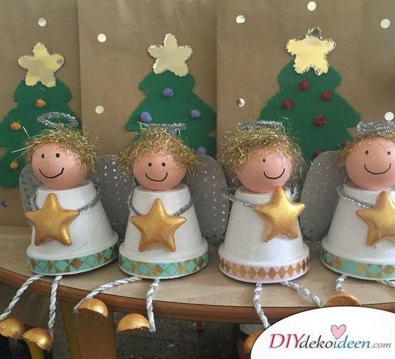 Zu Weihnachten basteln - Wundervolle DIY Bastelideen zum Fest #bastelideenweihnachten