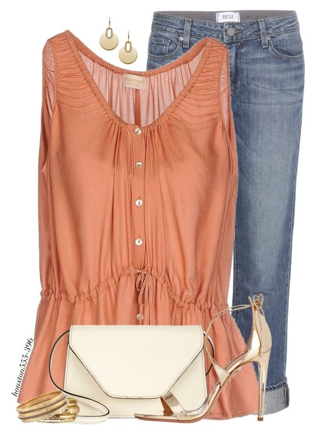 """""""Dinner with Friends"""" by houston555-396 ❤ liked on Polyvore featuring Paige Denim, Momonì, Valextra, Aquazzura, Michael Kors, Spring Street and Ross-Simons"""
