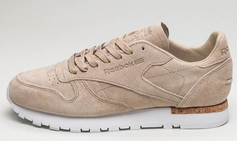 Details about Reebok Classic Leather Lst (OATMEAL DRIFTWOOD