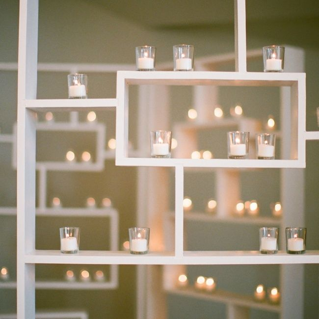 Master Bedroom Wall Of Candles Once Tea Lights Burn Out