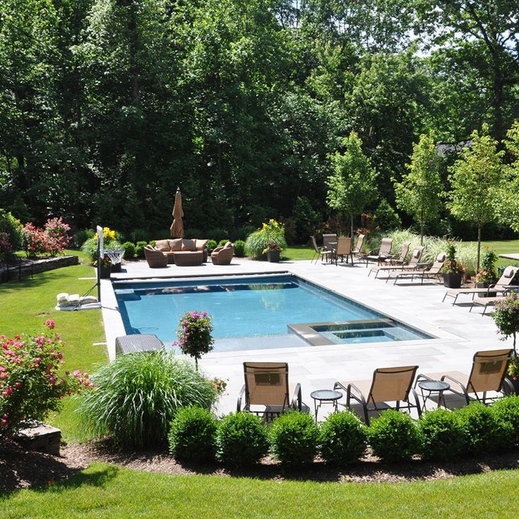 35 Cozy Swimming Pool Design Ideas For Your Home Backyard In 2020