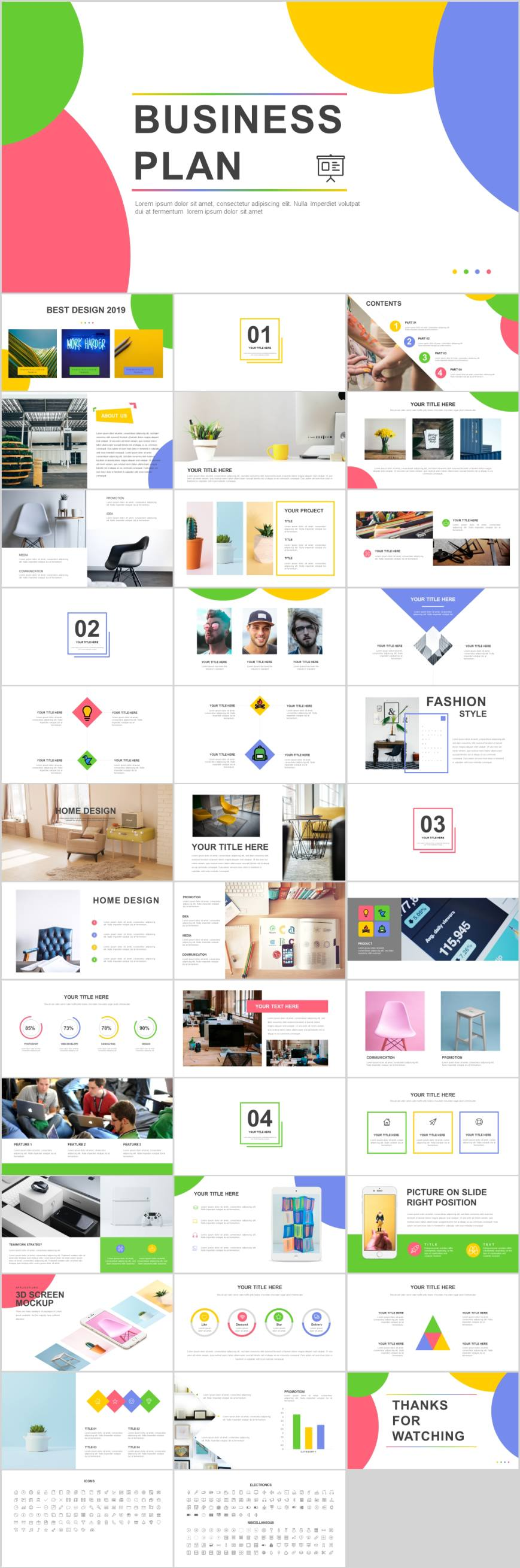 Fashion Business project analysis PowerPoint template  powerpoint You are in the right place about Architectural Style types of Here we offer you the most beautiful pictu...