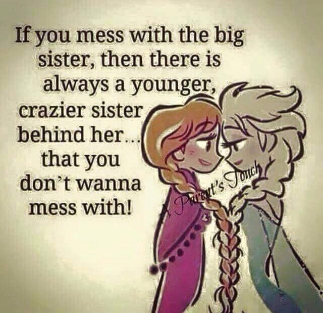 I love you big sis♡ Sister love quotes, Sister quotes