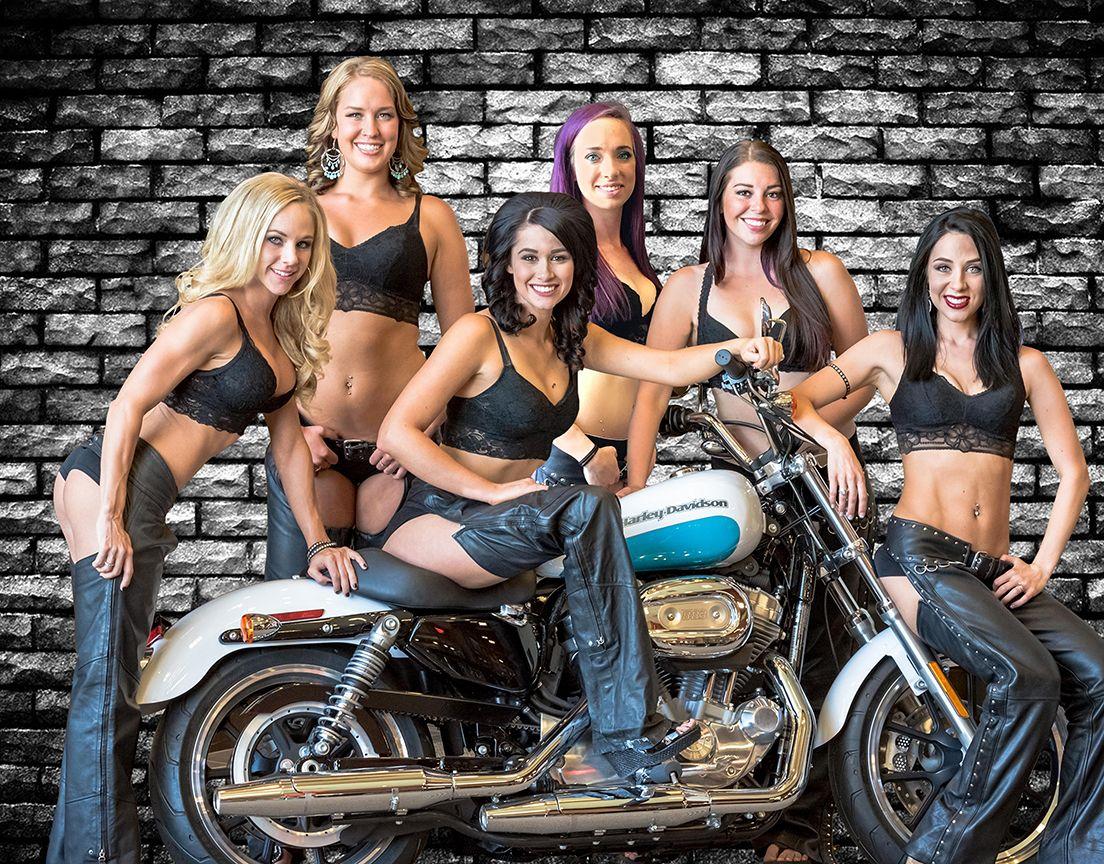 Sexy Harley Girls