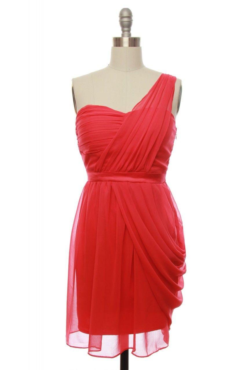 I really like this color for bridesmaid dresses saw it on for Coral colored wedding dresses