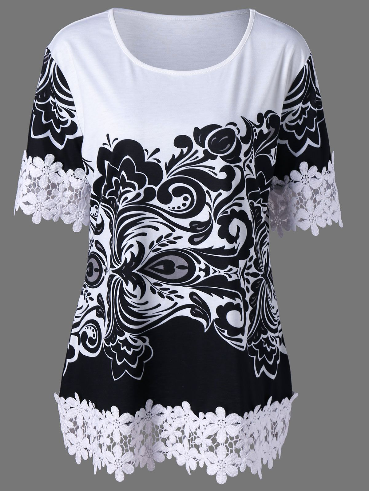 Crochet shirt as an exclusive wardrobe item 53