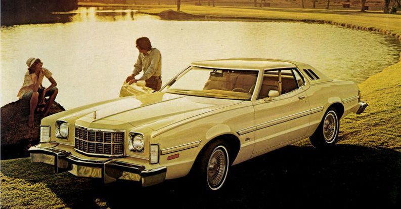 1976 Ford Grand Torino Elite Ford Torino Old Muscle Cars Ford
