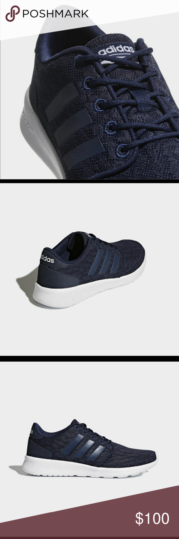 b8728950ba4 Adidas cloudfoam qt racer shoes BB9846 Adidas women s shoes adidas Shoes  Athletic Shoes