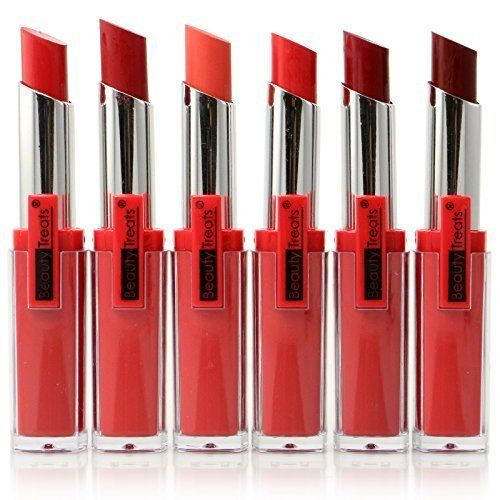 6pc Beautytreats Viva La Lips Matte Lipstick 606 Click Image For More Details Note It Is Affiliate Link To Amazon Matte Lips Makeup Lipstick Matte Lipstick