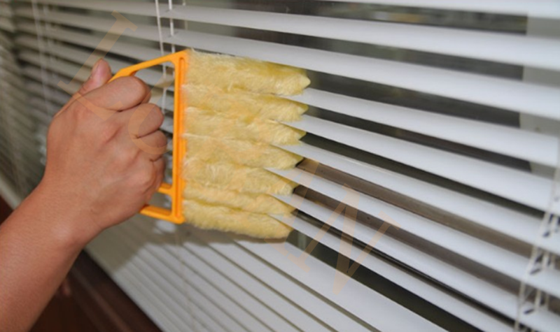 Washable Microfiber 7 Hand Window Miniblind Cleaning