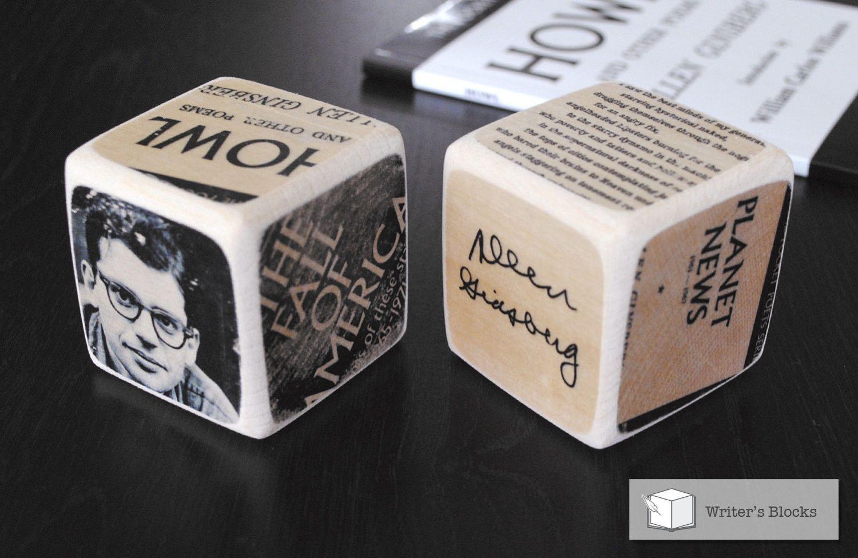 Writer's Block: Allen Ginsberg