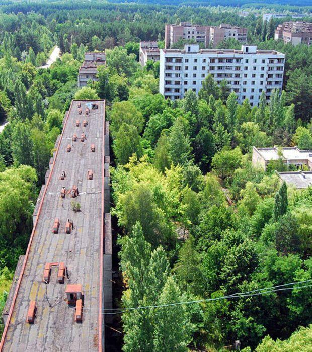 Photo : La fameuse ville abandonnée de Pripiat en Ukraine après la catastrophe de Tchernobyl