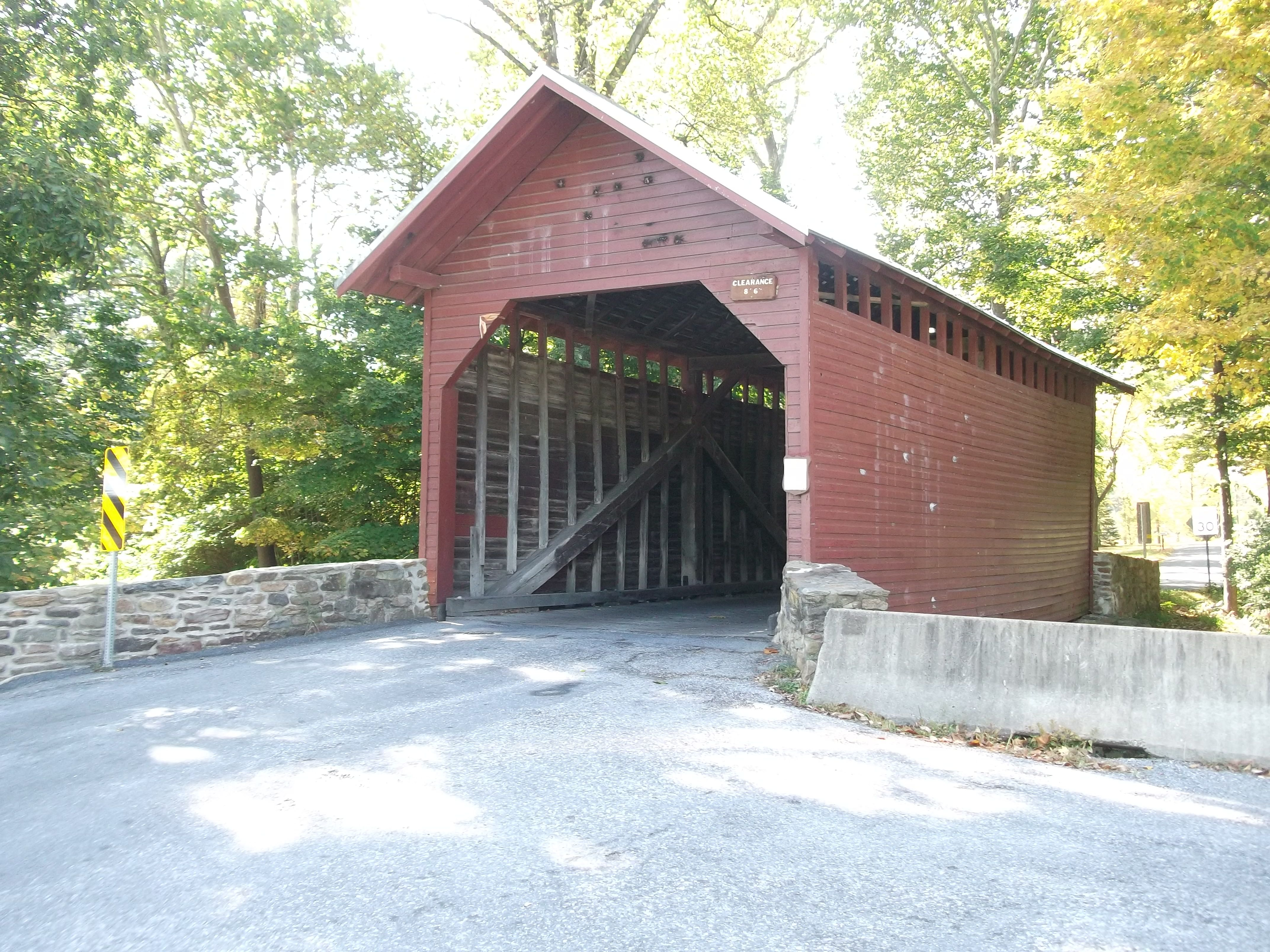Roddy Road Covered Bridge In Frederick Maryland Owens Creek Photo By Debra Short Covered Bridges Around The Worlds Places