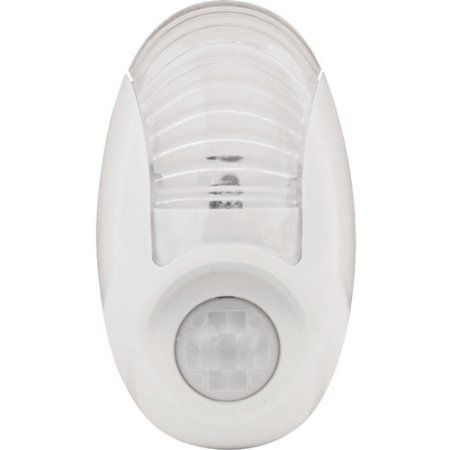 GE 50723 LED Motion-Sensor Night Light, Clear
