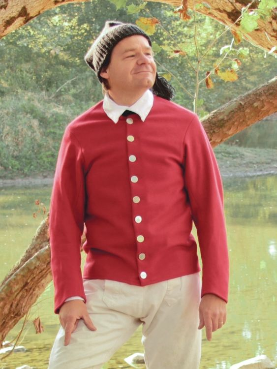 Woolen Short Jacket WJ-155, Jas  Townsend and Son, Inc    18th