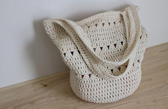 Crochet Pattern Easy Crochet Tote Bag Pattern Boho Shoulder Bag