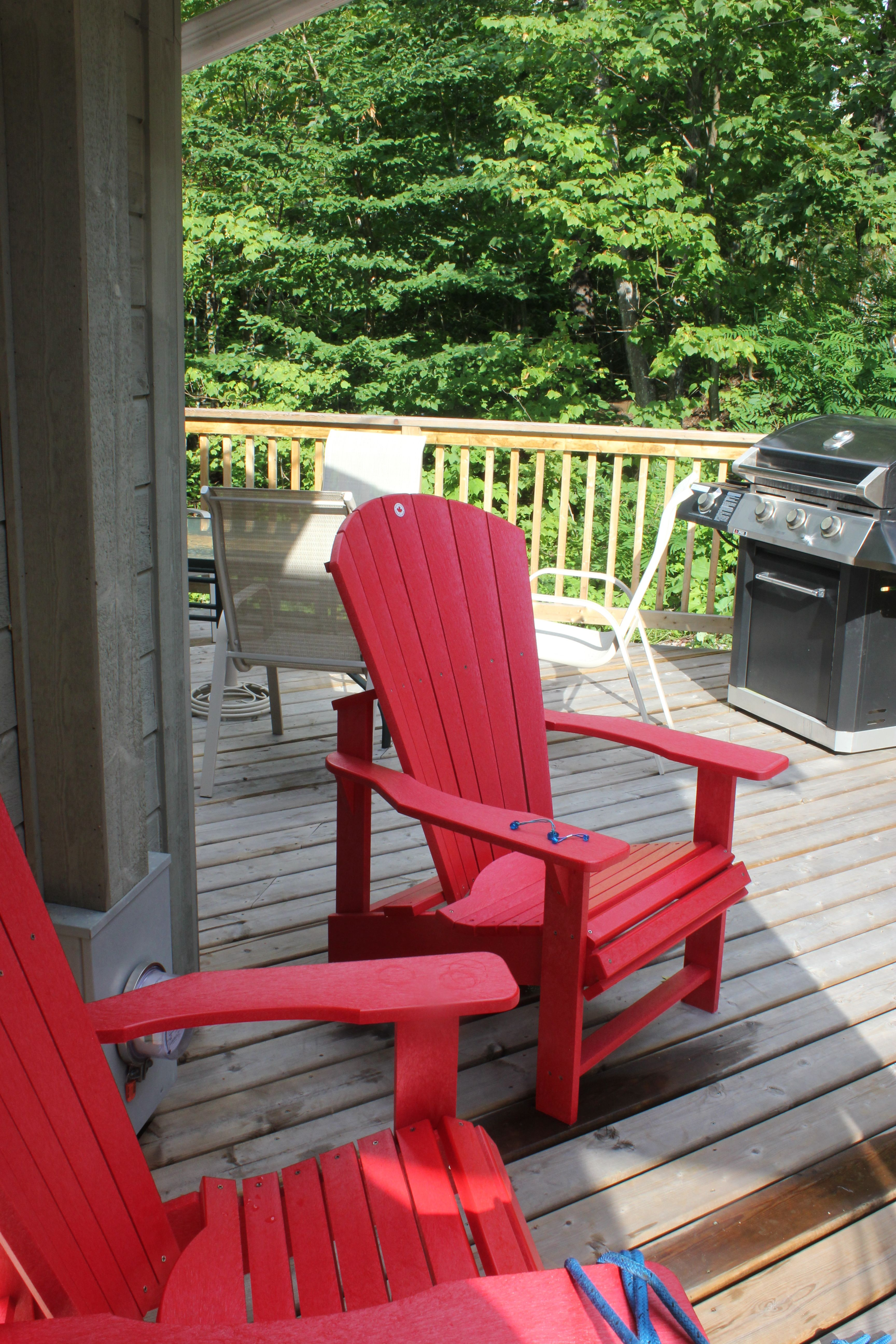 new recyled material muskoka chairs we bought