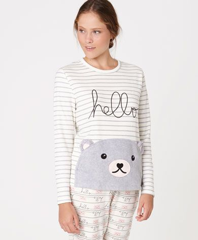 e321f49fd2295 Pijamas - OYSHO | Cute Pijamas | Pyjamas, Printed pants, Cute sleepwear
