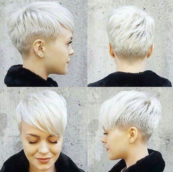 Pixie Schnitt Rundes Gesicht Hair 3 In 2019 Short Hair