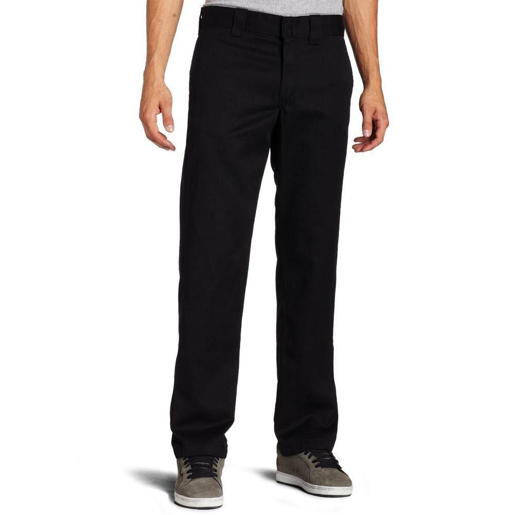 Dickies 873 black slim fit straight leg work pant