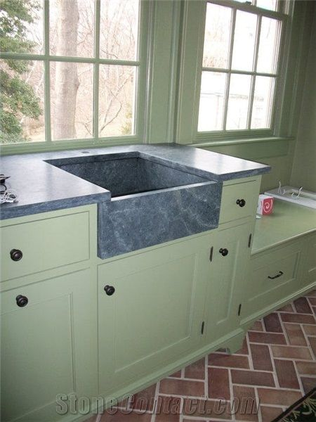 Green Soapstone Countertop