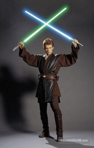 Star Wars Episode Ii Attack Of The Clones Promo Shot Of Hayden Christensen Star Wars Images Star Wars Anakin Star Wars Pictures