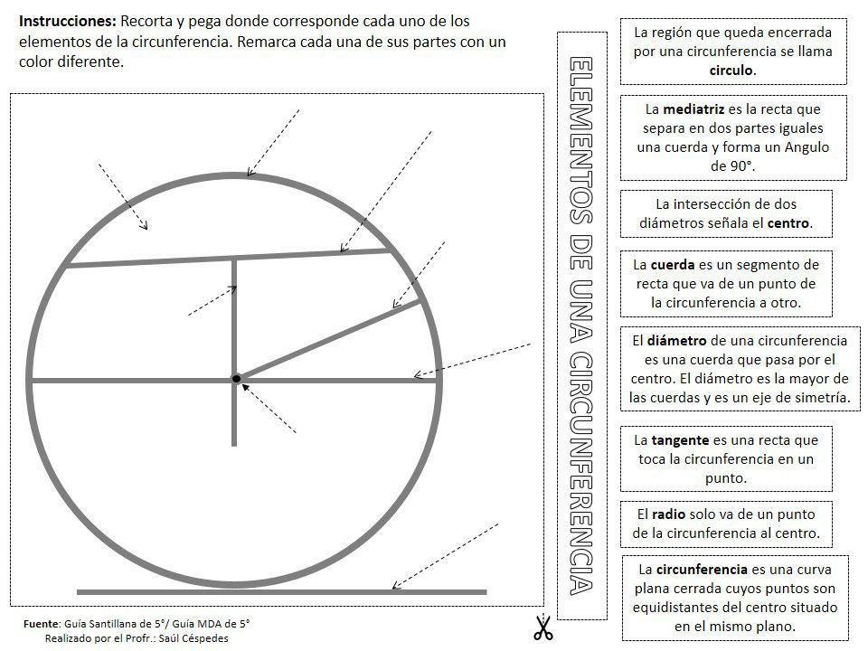 8 Ideas De Circulo Y Circunferencia Circulo Y Circunferencia Circunferencia Actividades Para Primaria
