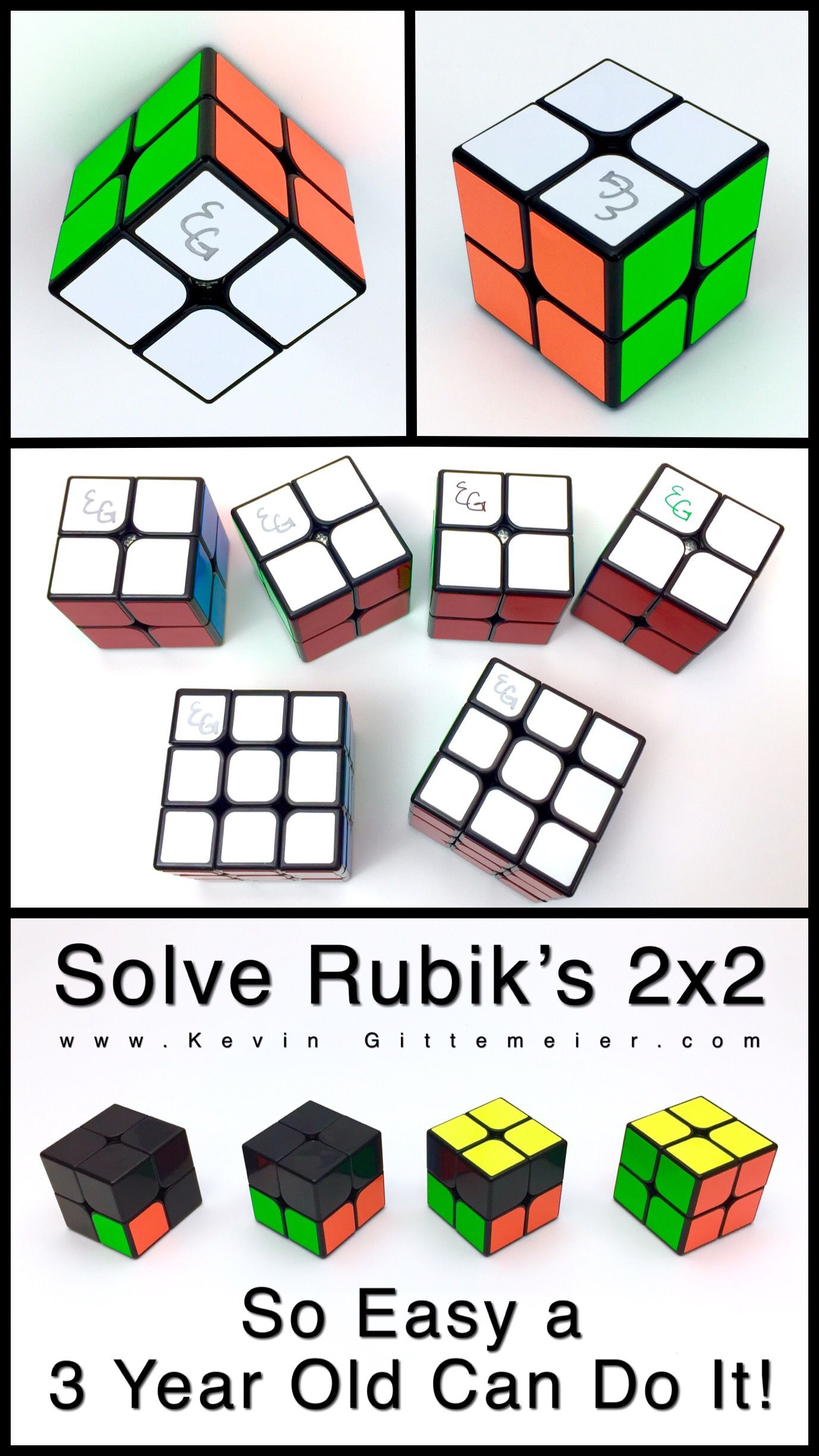How To Solve 2x2 Rubik S Cube Easy Tutorial Rubiks Cube 2x2 Rubik S Cube Cube