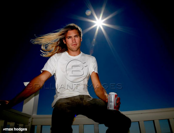 Max Hodges - previously from TMZ  He's the ultimate surfer DUDE, hot