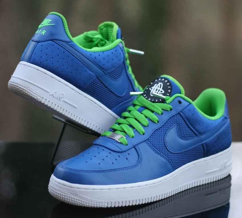 Air Force 1 Low Huarache Blue Green
