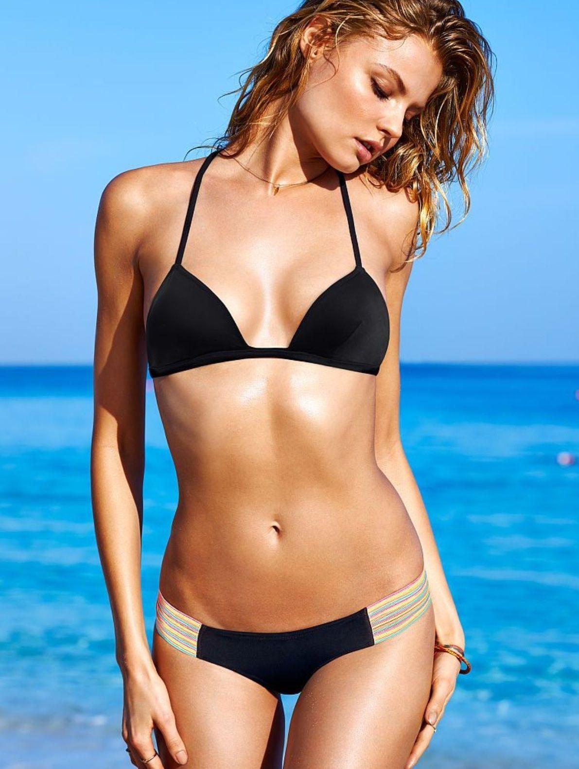 Victoria secret black bikini set