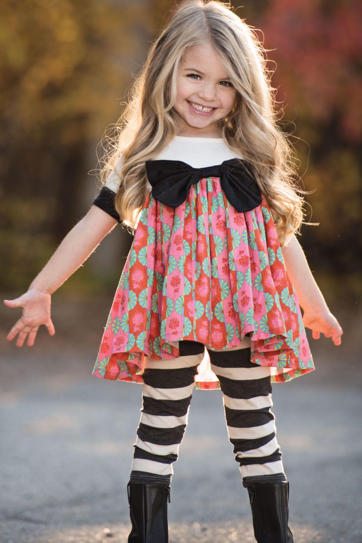 Persnickety Autumn Splendor Basic Striped Black Legging – Posh