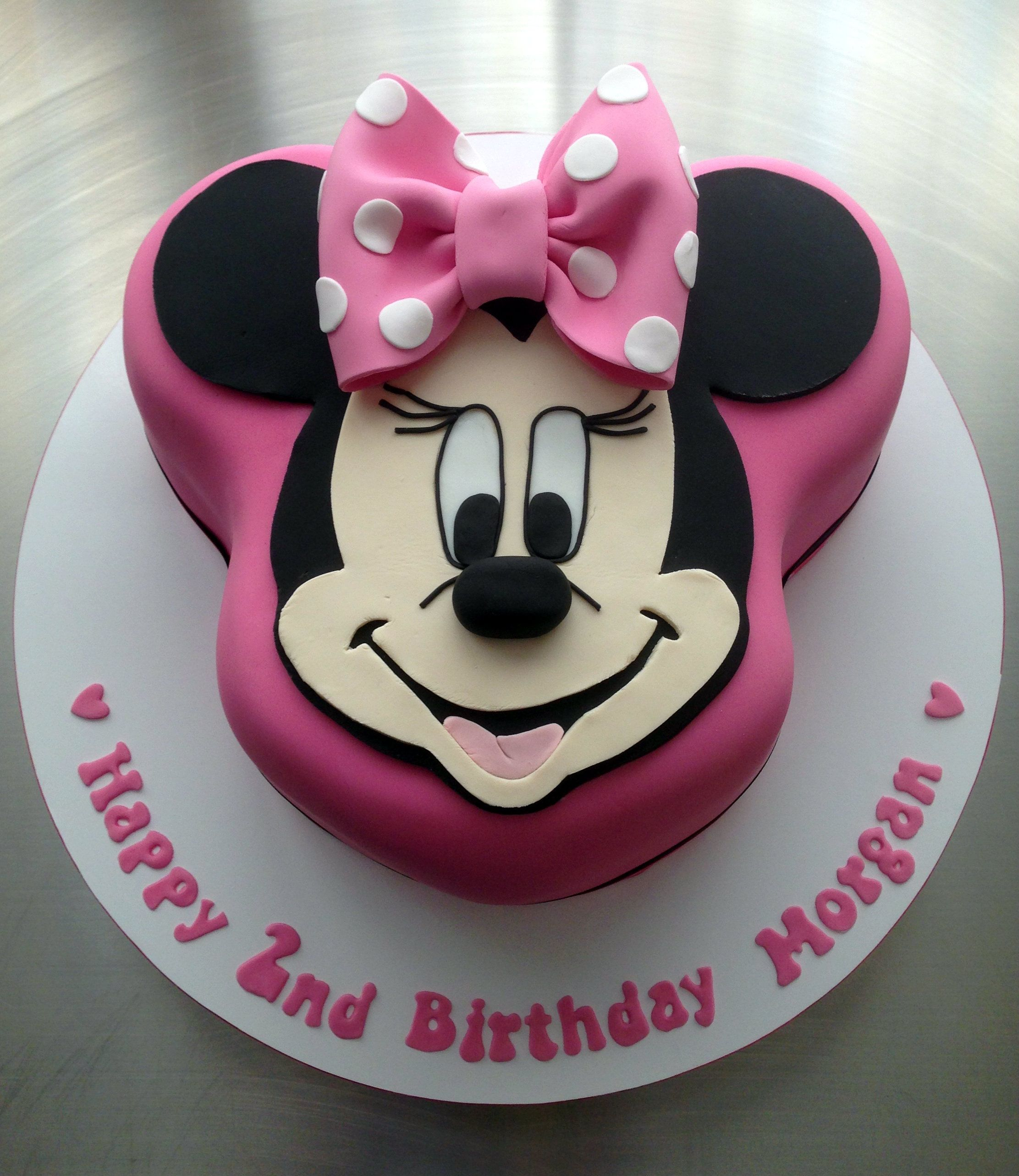 Minnie Mouse Cake (With Images)