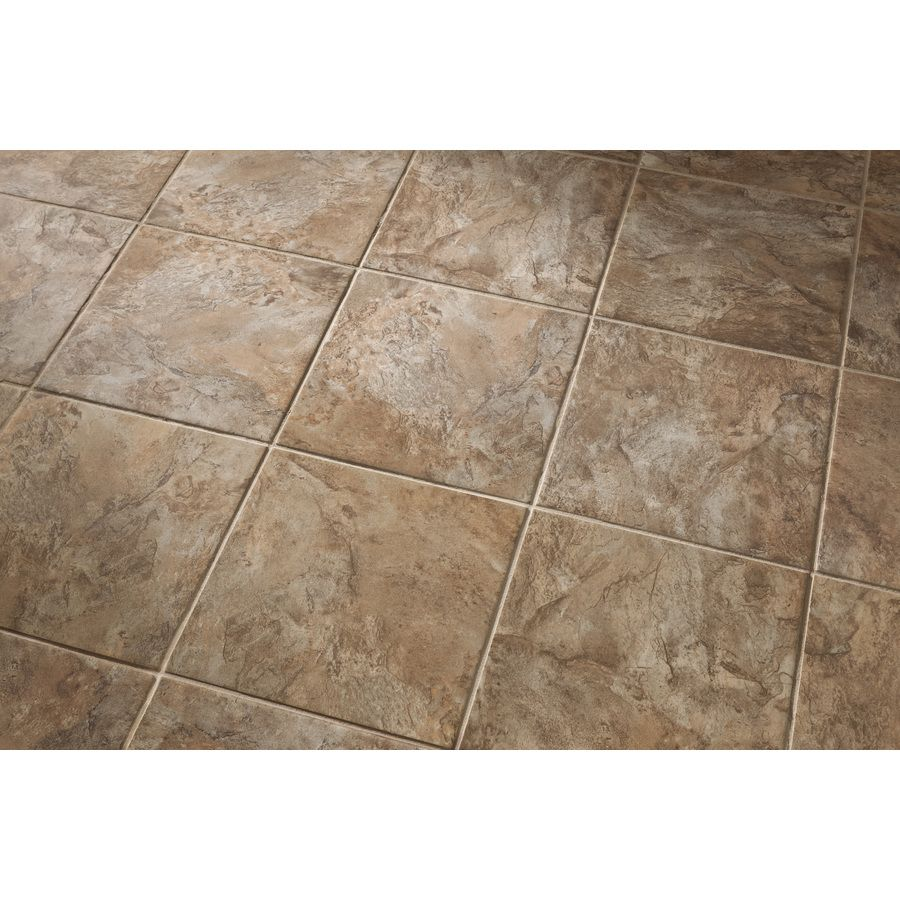 Lovely Shop Style Selections Canyon Espresso Glazed Porcelain Floor Tile  UI13