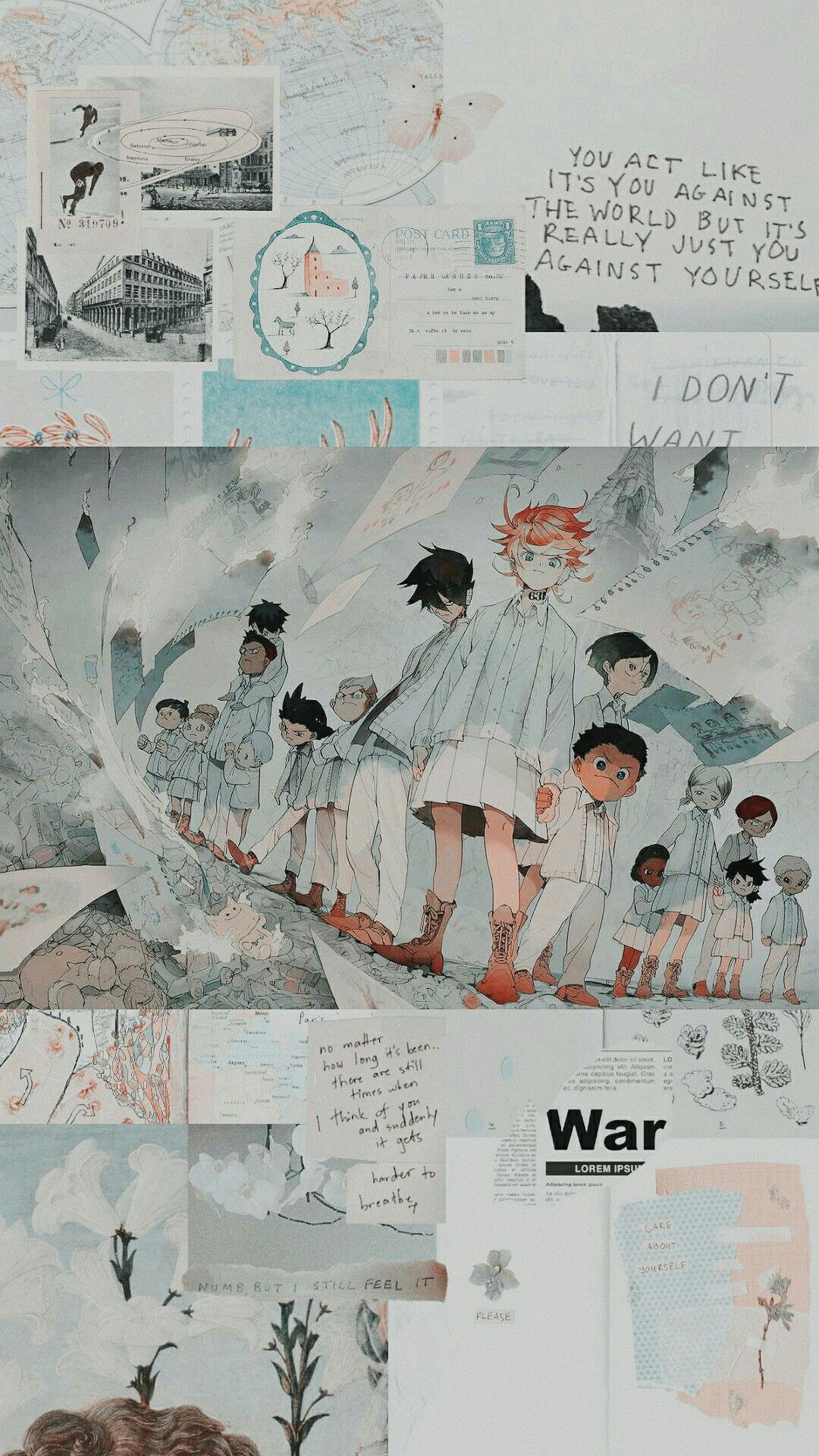 List Of Awesome Aesthetic Anime Wallpaper Iphone The Promised Neverland In 2020 Aesthetic Anime Anime Wallpaper Iphone Cute Anime Wallpaper