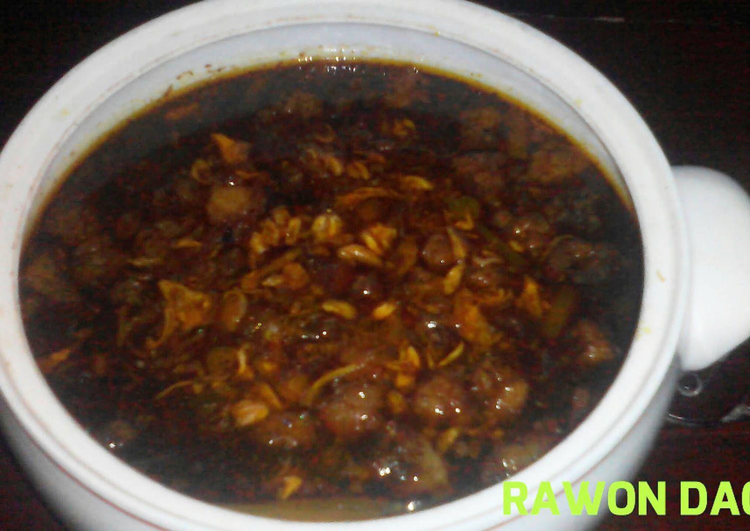 Resep Resep Cara Memasak Rawon Daging Sapi Surabaya Enak Oleh Ramaditia17 Resep Daging Sapi Cara Memasak Resep
