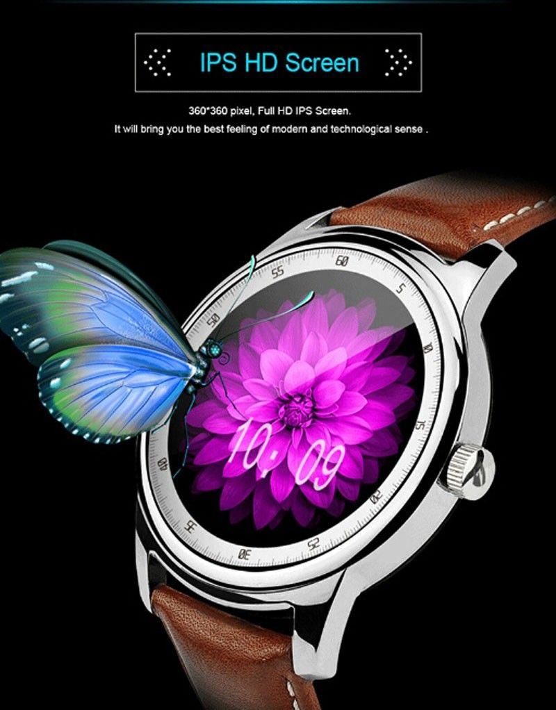 Full HD IPS Screen Waterproof SmartWatch Wearable Devices