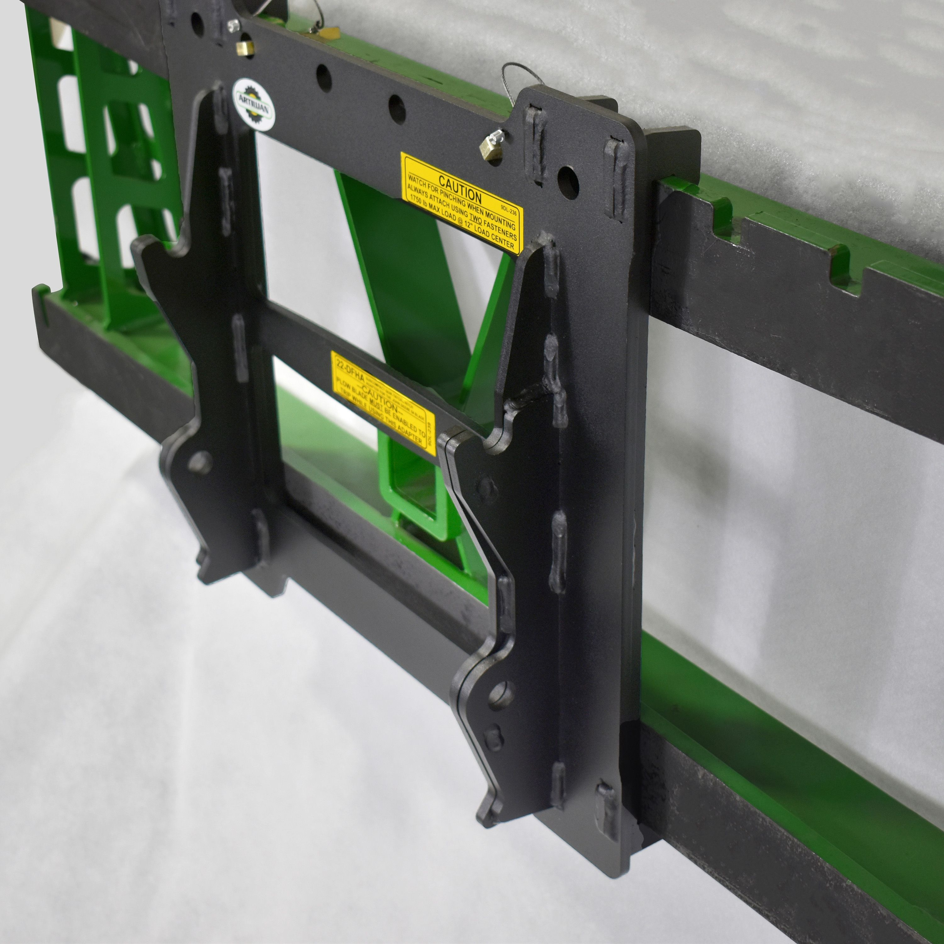 Subcompact Hitch Adapter For Jd Quik Tatch Hitch 54 Blade Sub