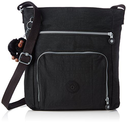 1fe74fbd1f Bagtopia Large Capacity Women s Casual Shoulder Bags Waterproof Multi  Pockets Nylon Cross Body Handbags Black -- Additional details